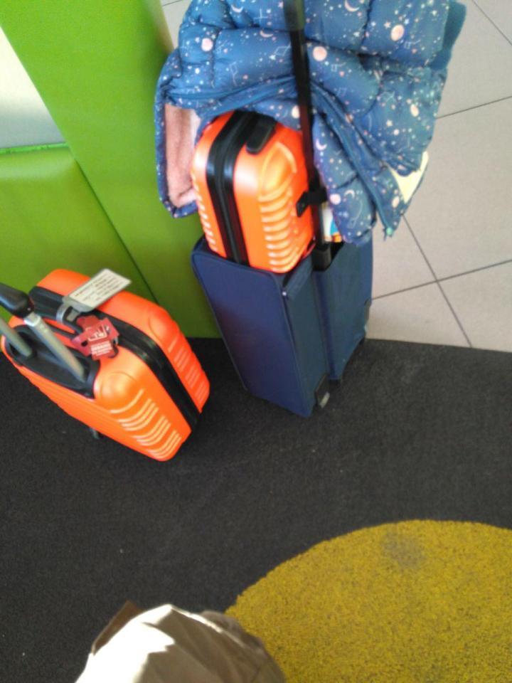 maletas mano aeropuerto