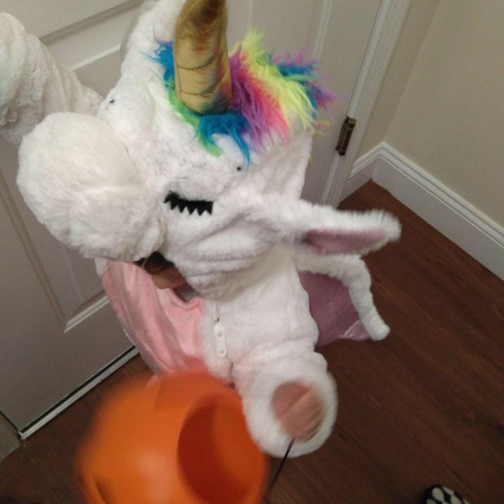 disfraz halloween unicornio